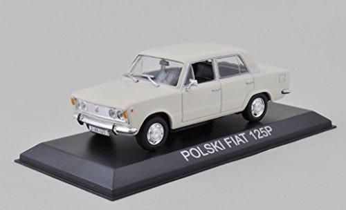 DieCast Modellauto 1:43 Agostini Polski FIAT 125 P creme