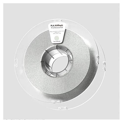 PLA K5 Filament 1,75 mm, 3D-Druckerfilament 1 kg, lässt den Druck einen Oberflächeneffekt wie natürliche Steine zeigen.-Granit A.