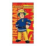 GUIZMAX Drap de Bain Sam Le Pompier Serviette Plage Fireman