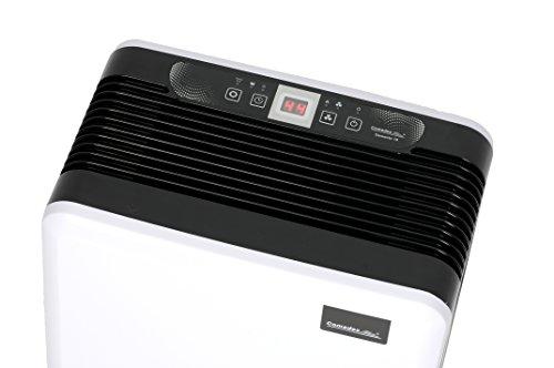 Comedes Demecto 10 - Geräuscharmer Luftentfeuchter für kleinere Wohnräume, Schlafzimmer oder Kinderzimmer bis 40m², bis zu 10 l/Tag