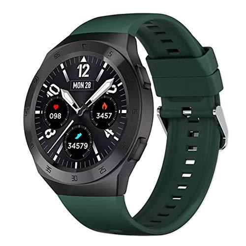 RCH SK1 Smart Watch Uomo Spaceman Dial Sports Braccialetto Bluetooth Call Compresa Cardiaca Blood Pressure Monitoraggio Smartwatch Meteo per Android iOS,A