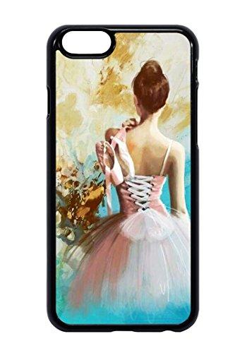 Bkstuff Cover Custodia TPU Gomma Danza Classica Ballerina Scarpe Scarpette per Vari Modelli (iPhone 6 6s)