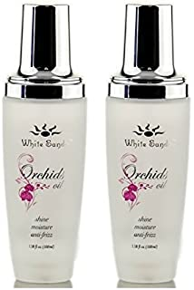 White Sands Orchids Oil Shine & Moisture(3.38oz) 18% Larger with Pump! (Set of 2)