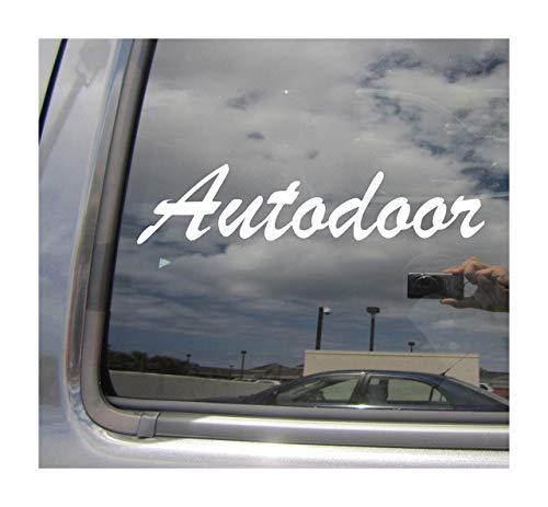 Lplpol Autodoor Autodoor - Adhesivo de vinilo para puerta corredera de coches, camiones, furgonetas, cascos de ciclomotor, casco duro, para automoción o portátil, para ventana, 6 cm