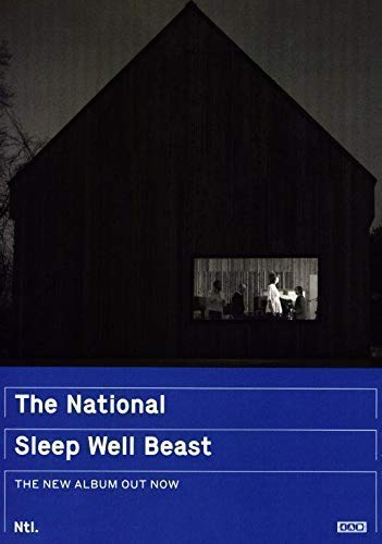 Desconocido The National Sleep Well Beast Póster Foto Band Trouble Will Find Me 001 (A5-A4-A3) - A3