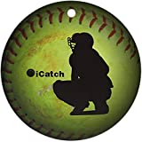 Icatch Fastpitch Softball Ornament(Round) Holiday Christmas Ornament Holiday and Home Decor Round Xmas Gifts Christmas Tree Ornamentsクリスマス 2019