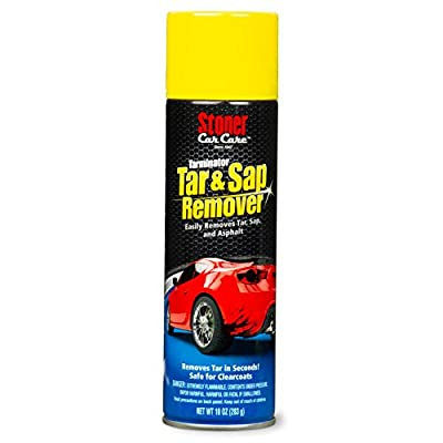 Stoner Car Care 91154 Tarminator Bug, Tar, Sap & Grease Remover, 10-Ounce