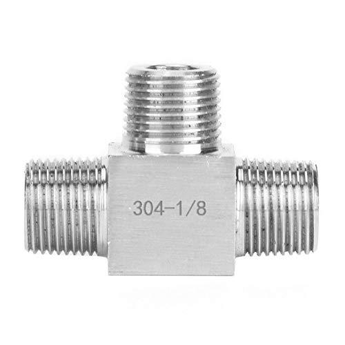 Conector de tuberías, estructura compacta, sin fugas, rosca interior para tuberías de...