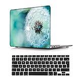 NEWCENT Nuevo MacBook Air 13' Funda,Plástico Ultra Delgado Ligero Cáscara Cubierta EU Teclado Cubierta para MacBook Air 13 Pulgadas con Retina Display Touch ID(Modelo:A2337 M1/A2179),Paisaje A 24