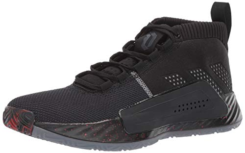 adidas Men's Dame 5, Black/Grey/Night Metallic, 9.5 M US