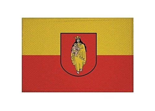 U24 Aufnäher Genthin Fahne Flagge Aufbügler Patch 9 x 6 cm