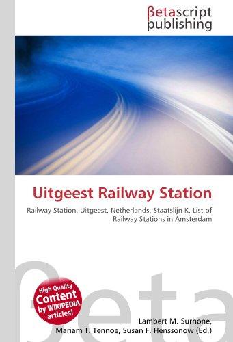 Uitgeest Railway Station