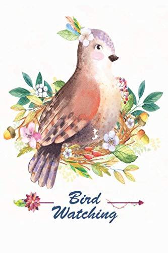 Bird watching: Bird watching journal with pictures