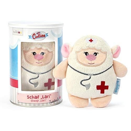 kullaloo Kuscheltier Schaf lari - CanCutie - Trost Serie, Arzt / Krankenschwester, Mutmacher bei Schmerzen / Krankheit