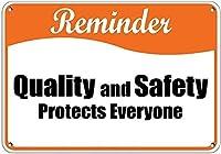 高品質の金属缶サインイン、警備員ピットブルドッグオンデューティーオーナーに注意、パークサインパークガイド警告サイン私有財産の金属屋外危険サイン