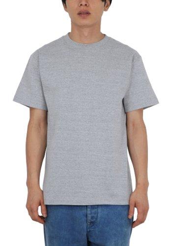 (プリントスター)Printstar 5.6オンス ヘビーウエイトTシャツ 00085-CVT 2枚セット 003 杢グレー 01 S