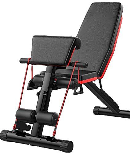 Banco de Musculación Plegable Entrenamiento Completo tu Gimnasio Fitness tu Banco de musculacion ajustable Pro