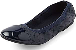 The Children's Place Kids' Quilted Ballet Flats