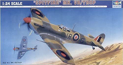 1 24 Spitfire Mk.VB TROP (japan import) by Trumpeter