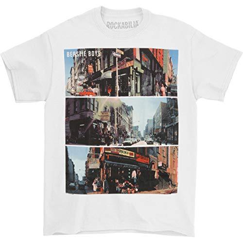Beastie Boys City Scenes T-shirt for Men, White, XXL