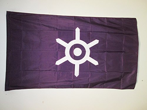 AZ FLAG Drapeau Tokyo 150x90cm - Drapeau Ville de Tokyo au Japon 90 x 150 cm Fourreau pour hampe