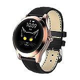 LLTG HDT7 Smart Watch Women A Prueba De Agua Monitor De Ritmo Cardíaco Smartwatch 2021 Fitness Damas Pulsera Regalo para Android iOS PK KW10,D
