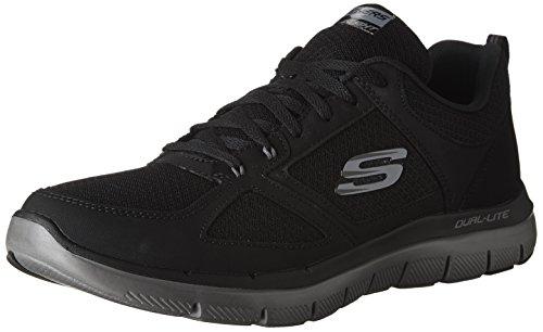 Skechers 52189-BKCC, Zapatillas Unisex Adulto, 43 EU, 52189-BKCC_43