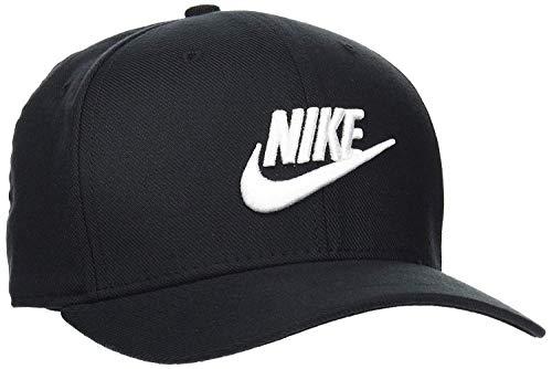 NIKE Sportswear Classic 99 Cap Gorra, Unisex Adulto, Black/Black/White, Talla Única