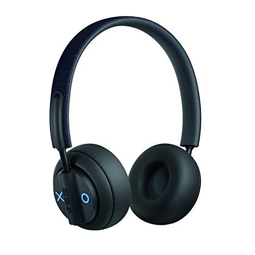 Jam Out There, On-Ear bluetooth Kopfhörer, Active Noise-Cancelling, aktive Geräuschunterdrückung, 40mm Treiber, 17 Std Spielzeit,Mikrofon, IPX4 Schweiß- und Regenfest, faltbare Ohrmuscheln, black