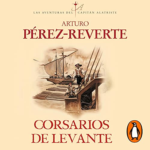 Couverture de Corsarios de Levante [Corsairs of the Levant]