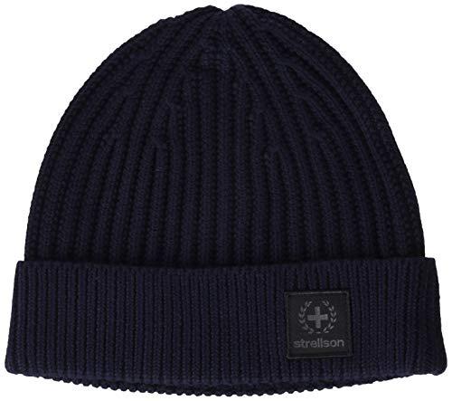 Strellson Premium Fornton-cap Cappello Invernale, Blu Scuro 402, One Size Uomo