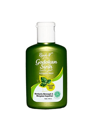 Resik-V Godokah Sirih - Agua de hoja Betel, 100 ml (paquete de 2)