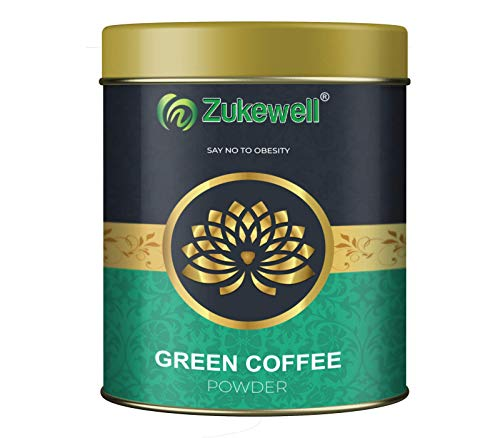 Zukewell Green Coffee Beans Powder for Weight Loss