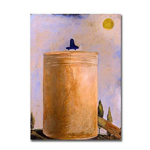 AZTeam Salvador Dali Tower Piano De Cola Y Fuente Pintura so