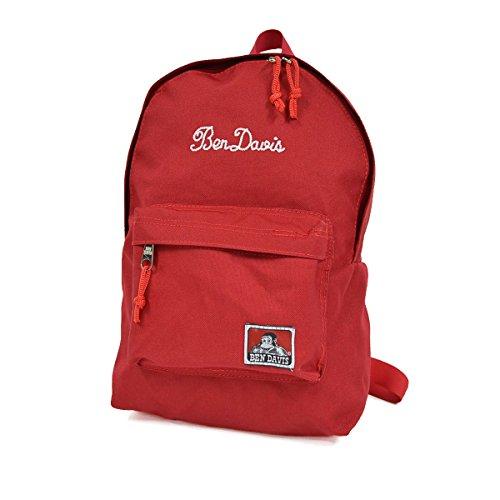 (ベンデイビス) BEN DAVIS キッズ リュック BDW-9038 メンズ レディース 子供 男の子 女の子 リュックサック バックパック 通園 通学 Red