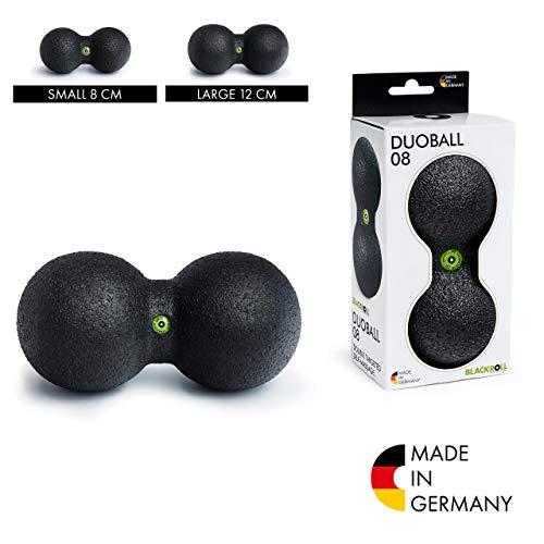 BLACKROLL DUOBALL 08 Faszienball - das Original. Selbstmassage-Ball für die Faszien, Größe 08cm