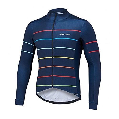 Uglyfrog MTB Thermo Rennrad Trikots & Shirts Mountain Bike Motocross Cycling Enduro Cross Motorrad MTB Shirt Herren Long Sleeve Thermal Fahrradbekleidung
