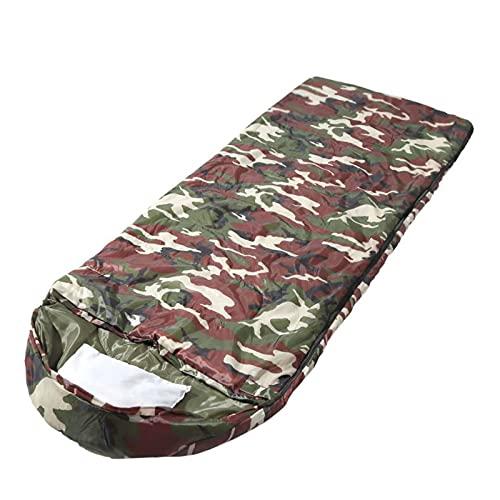 FACWAWF Saco De Dormir Al Aire Libre para Acampar Engrosamiento Calor para Adultos Ultraligero Viaje para Acampar Saco De Dormir A Prueba De Humedad 210x85cm(2400g)