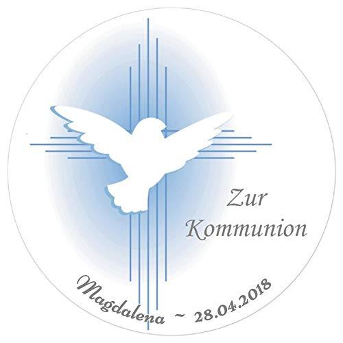 Tortenaufleger Tortenbild Kommunion Konfirmation Jugendweihe Wunschtext Foto essbar Ø 20cm 416