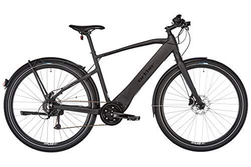 Ortler Oslo 2019 - Bicicleta eléctrica (acabado mate), color negro