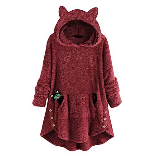 Damen Winterjacke rot Poncho für Damen Vintage Pullover regenparker Damen wasserdicht Kleidung Weihnachten Damen Shirt Damen Langarm Damen mäntel Kleid mintgrün Winterjacke schwarz
