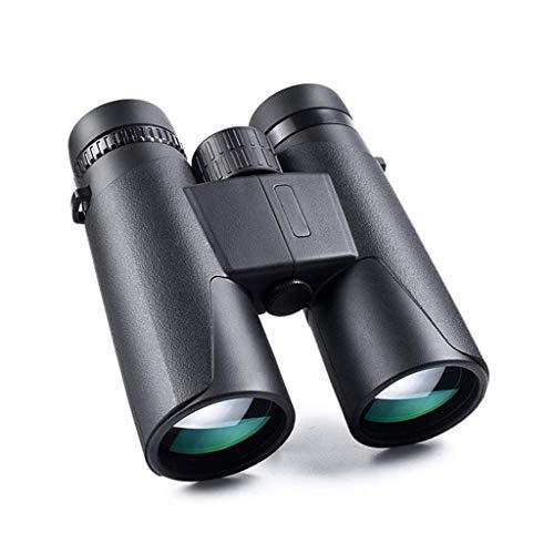ZOUQILAI 12 × 42 Jumelles HD télescope d'observation des Oiseaux imperméable à l'eau Voyage en Plein air oculaire Rotatif Faible Niveau de lumière Vision Nocturne