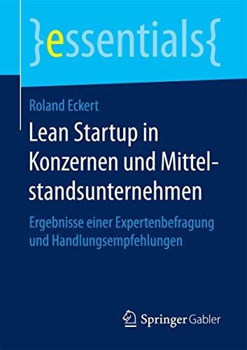 Lean Startup in Konzernen und Mittelstandsunternehmen: Ergebnisse einer Expertenbefragung und Handlungsempfehlungen (essentials)