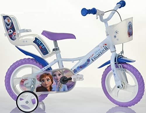Cicli Puzone Bicicleta 12 Frozen Dino Bikes Art. 124RL-FZ3 M