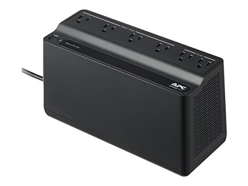 APC UPS, 425VA UPS Battery Backup Surge Protector, BE425M Backup...