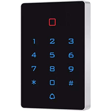 LBS 125KHz EM/ID Standalone Touch Screen Mighty Mule Keypad Wiegand 26 bits with RFID Reader for Access Control Apartment Security System