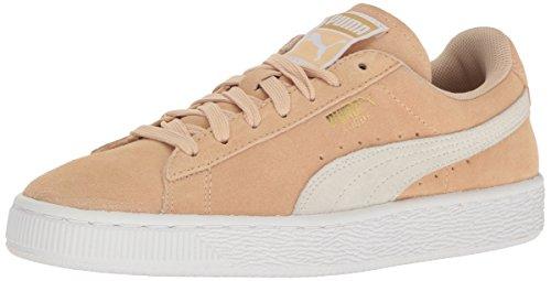 PUMA - Sneaker da Donna Suede Classic Wn's, Nero, Marrone (Vachetta Bianca Naturale.), 38 EU