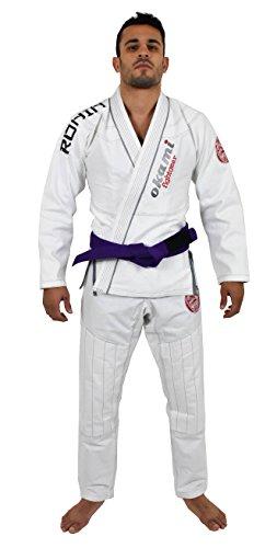OKAMI Fightgear Herren Ronin White Limited Edition Gi, weiß, A4