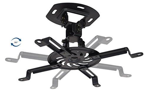 VIVO Universal Adjustable Ceiling Projector, Projection Mount Extending Arms, Black, MOUNT-VP01B Photo #6