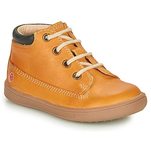 GBB NORMAN Sneakers jongens Oker Hoge sneakers